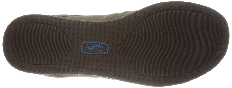 SoftWalk Women's Topeka Flat B00BFYWUW6 6.5 N US|Sage