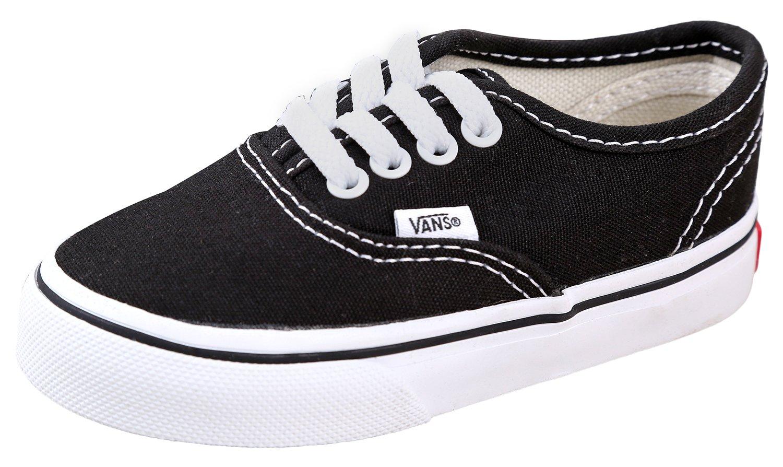 Vans Kids' Authentic Core Skate Shoe Black2