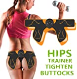 Abs Stimulator Electric Hips Trainer,Hip Trainer,Electronic Backside Muscle Toner, Smart Wearable Buttock Ab Stimulator…