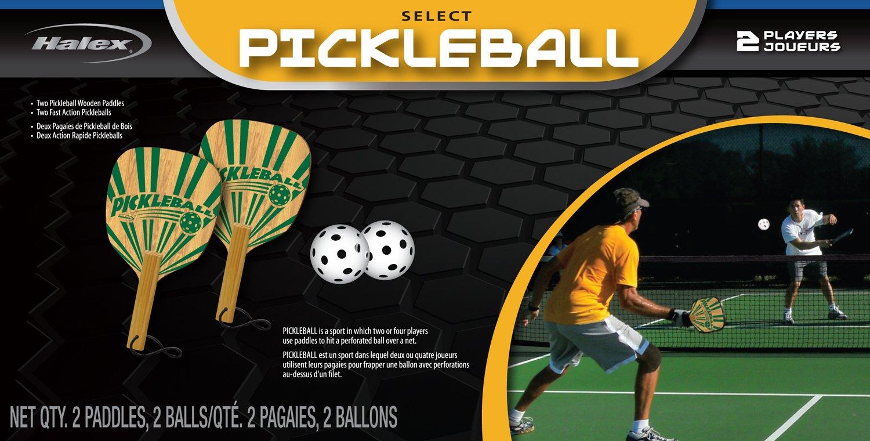 Amazon.com : Halex Pickleball Select 2 Player Set (2 Paddles/2 Balls) : Sports & Outdoors