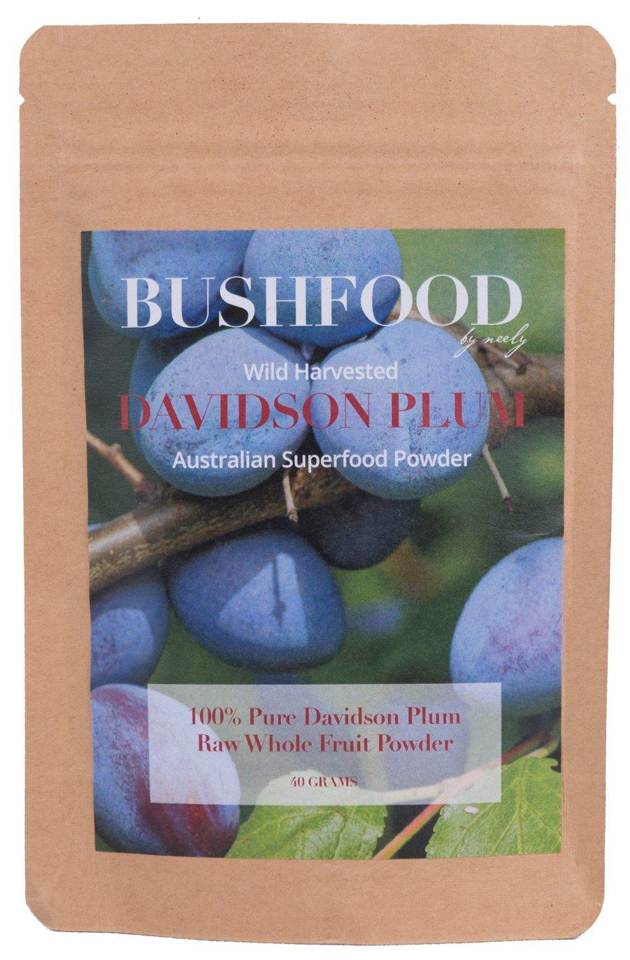 Davidson Plum - Beautiful Dark Purple Bush Tucker Food