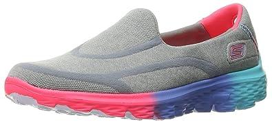 c660f2fdf521 Skechers Kids Girls  Go Walk 2-Sweet Socks Slip-on