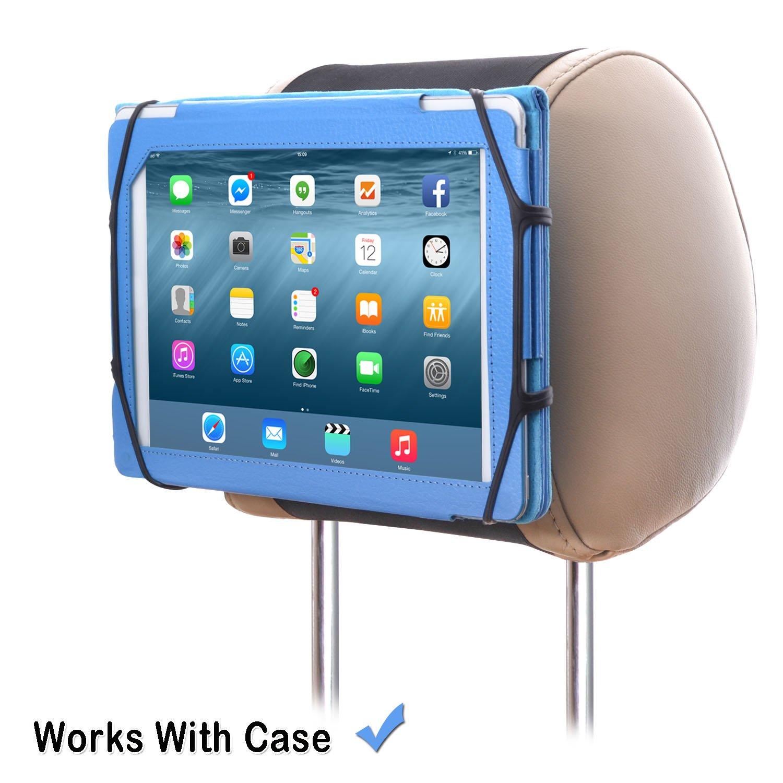 WANPOOL Soporte para Reposacabezas del Coche para iPad y Tabletas de 7-10.5 Pulgadas