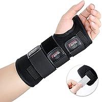Featol Handgelenkbandage Handgelenkstütze Handgelenkschiene, Schutzfunktion Schmerzlinderung und die Stabilität unterstützen, behilflich für Männer und Frauen| Links & Rechts (Links, M/L(17-22)) …