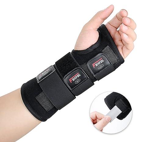 e4c76133f65b8 Featol Attelle de poignet pour poignet Fonction de protection de la douleur  et de la stabilité