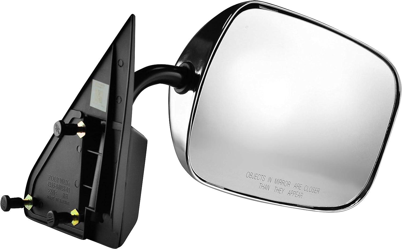 Body Passenger Side Chrome Mirror for 88-00 C/K 1500 Chevy GMC ...