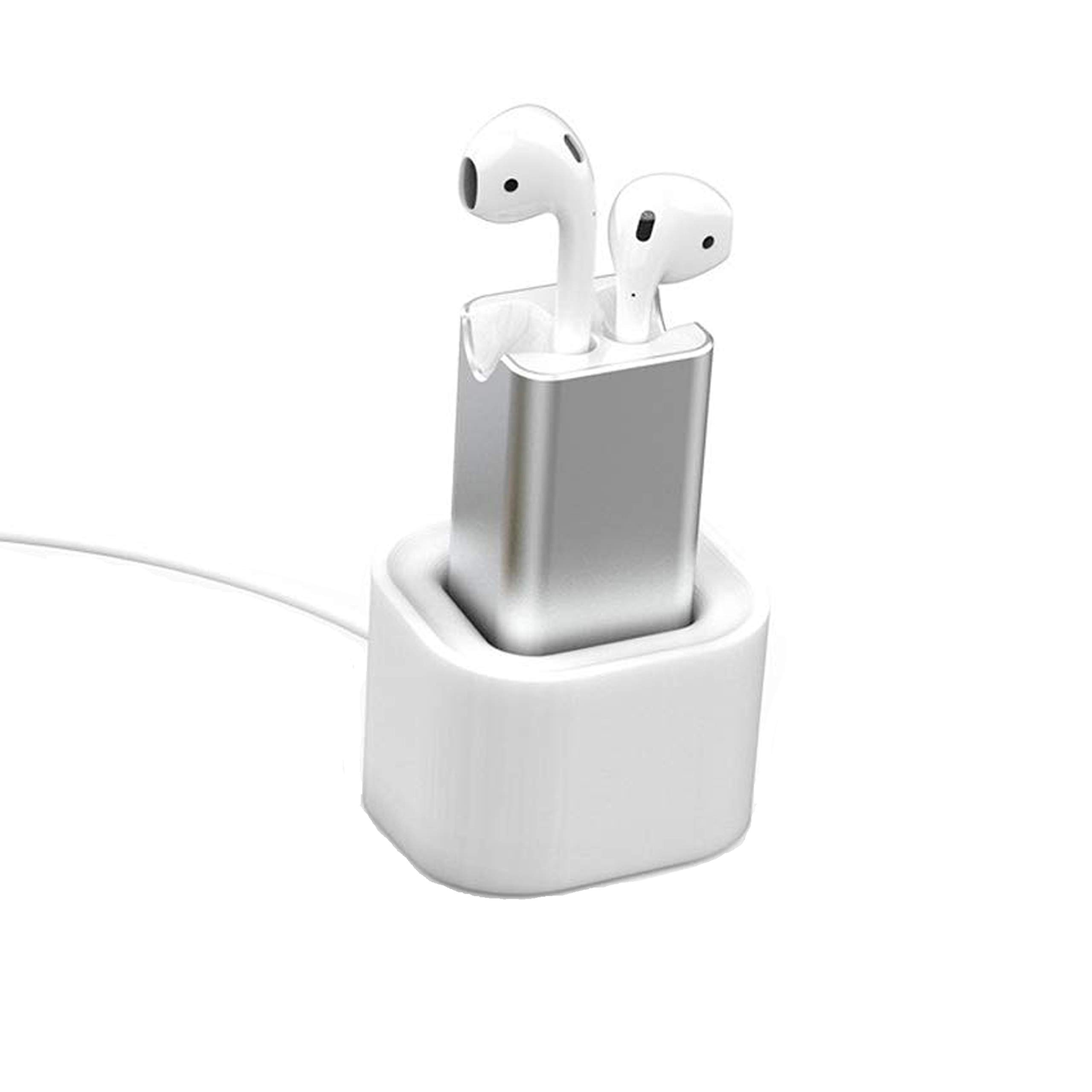 for Home Car Compatible with Airpod 1 /& 2 Generation Earbuds. Office COSOOS Charging Case Replacement Charging Station for Aipods Backup Desktop Fast Charger Adapter with Stand Holder