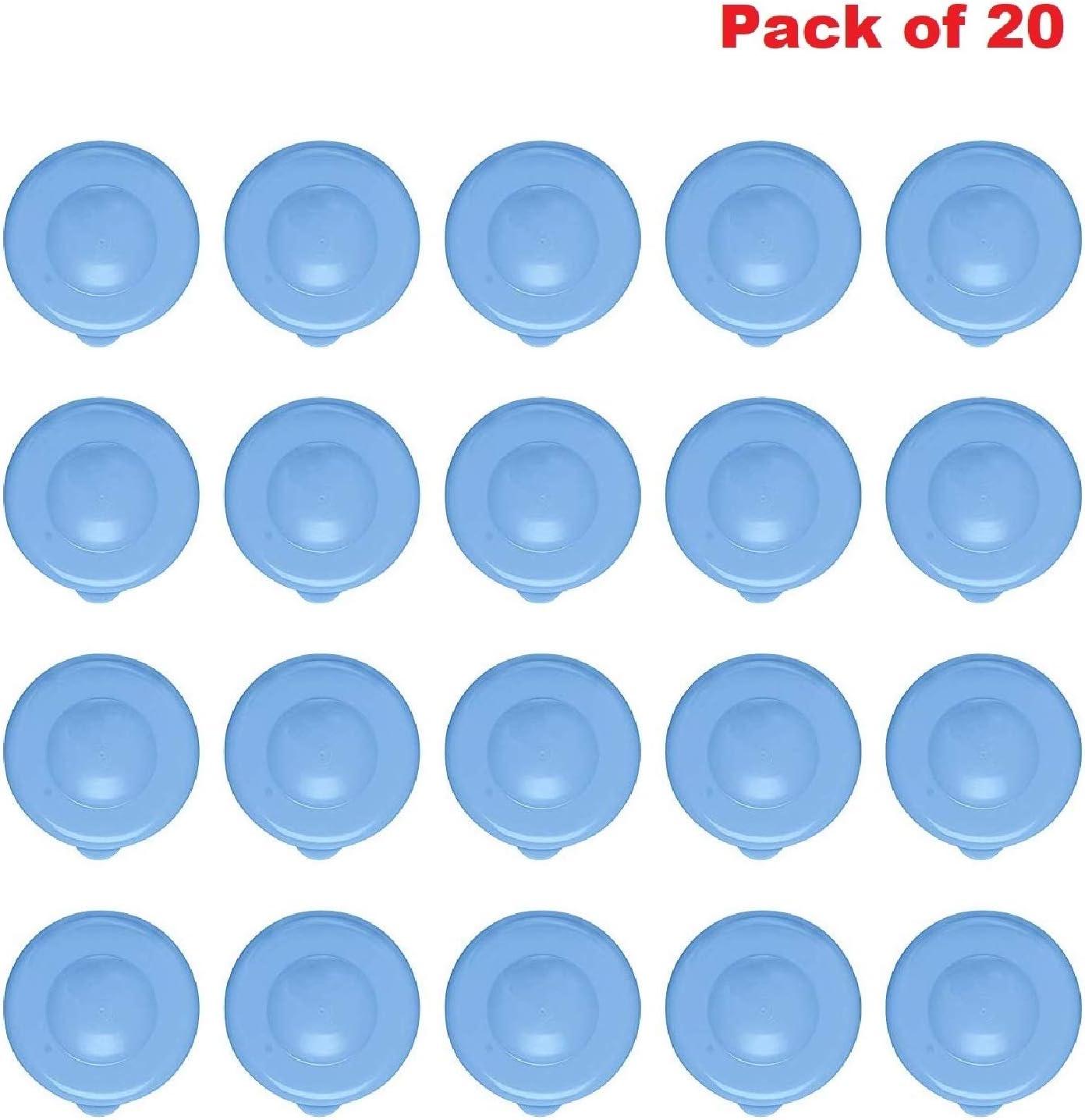 55mm Snap On Crown Top Fit 3 /& 5 Gallon Water Bottles Snug /& Tight Leak Proof Reusable BPA-Free Jug Lids 3 Dew Caps AquaNation Dew Cap Replacement
