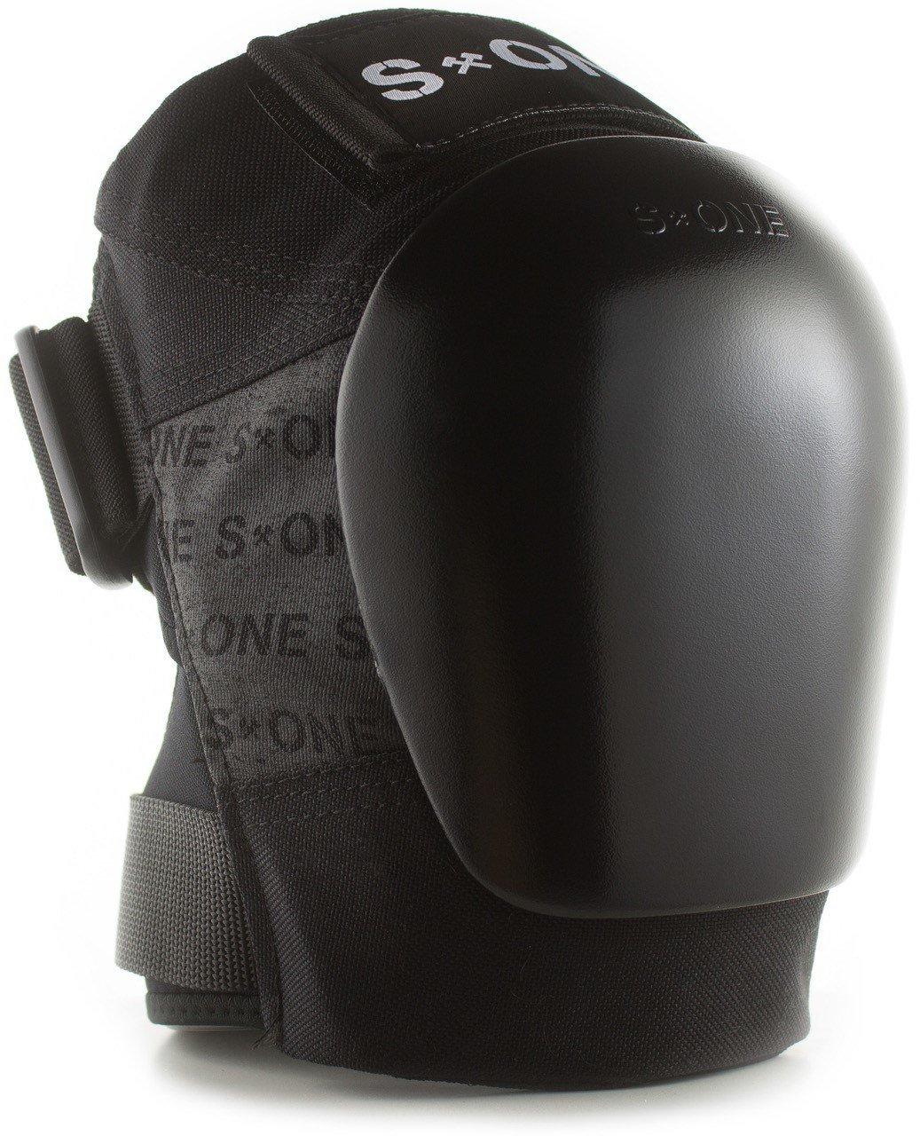 S-ONE GEN 3 PRO ニーパッド - ホワイトキャップ (M/L トップ膝 17インチ-18インチ ボトム膝 14インチ-15インチ) B07FKW65FB 2X-Large : Top Knee 21