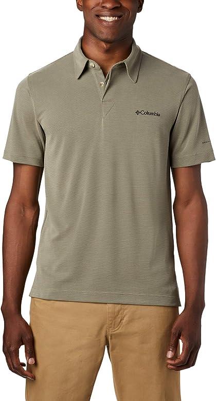 Columbia Sun Ridge Polo, Hombre, Sage, L: Amazon.es: Deportes y ...