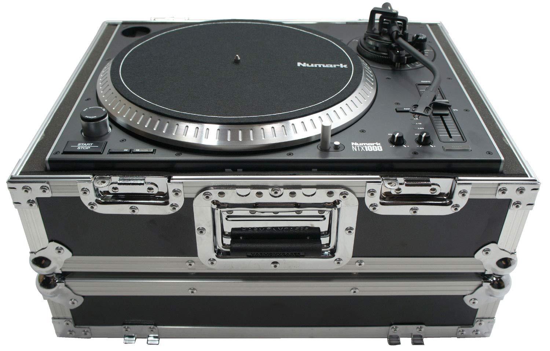 Harmony HC1200BMKII Flight Foam Lined Turntable Custom Case fits Technics 1200