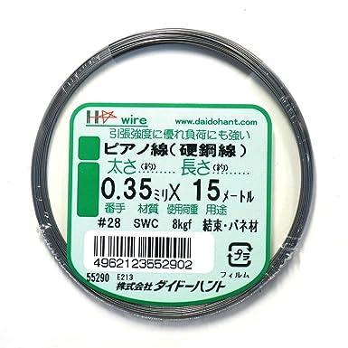 Amazon.co.jp ピアノ線(硬鋼線)  産業・研究開発用品