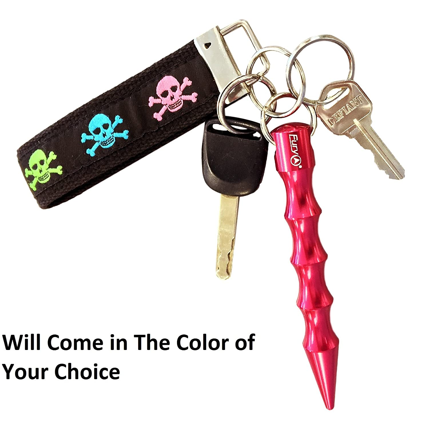 Amazon.com : Fury Tactical Self Defense Keychain with Pressure Tip, 5.75