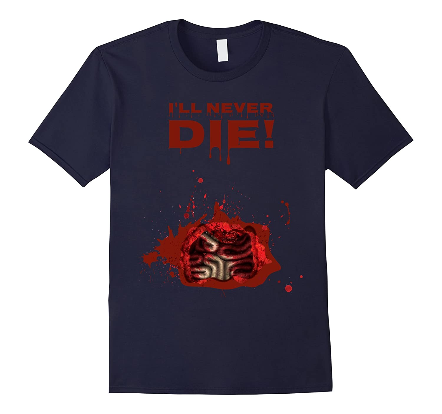 A Zombie Tried To Eat Me, But I'll Never Die!-T-Shirt