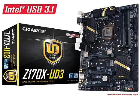 GIGABYTE GAZ170UD3-00-G - Placa Base, Socket 1151 DDR4 ATX
