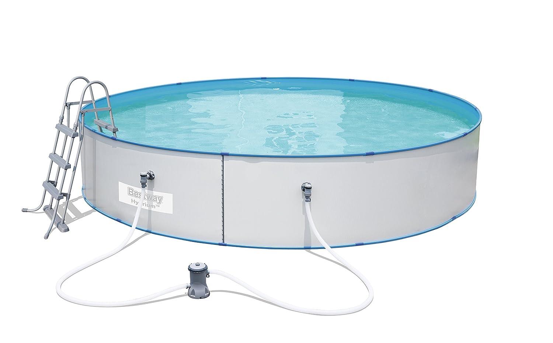 Bestway Hydrium Splasher Pool-Set 460x90cm mit Filterpumpe + Zubehör ...