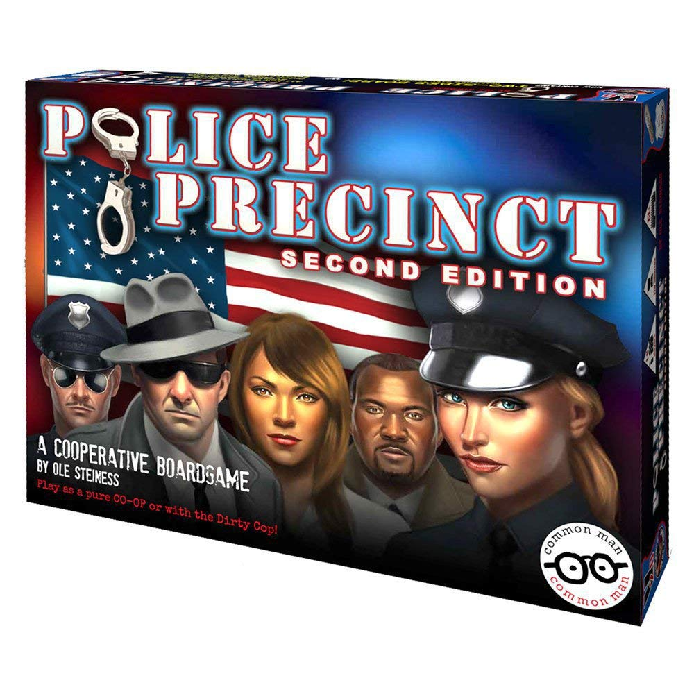 Police Precinct 2nd Edition by Common Man Games