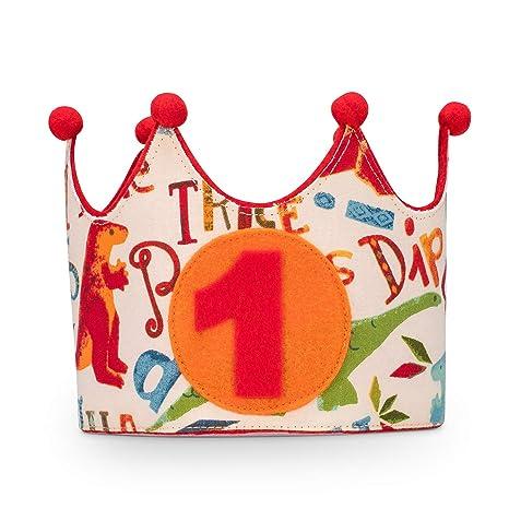 Kembilove Corona Cumpleaños Bebe – Corona Tela Cumpleaños – Corona Cumpleaños Infantil – Corona Primer Cumpleaños – Corona Niño y Niña – Corona ...
