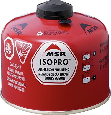 MSR (Mountain Safety Research) Cartucho de Gas IsoPro, 227 g, 6834
