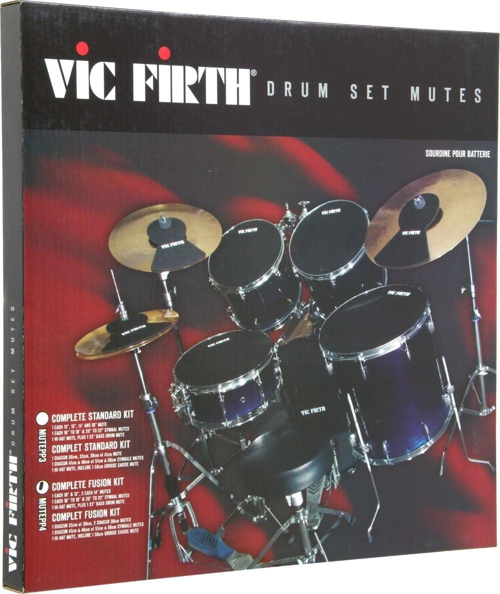 Vic Firth - MUTEPP4, Sordina para tambores, Color Negro: Amazon.es: Instrumentos musicales