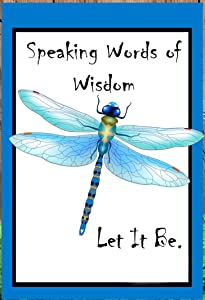 Flags Galore Decor & More Dragonfly ~ Let it Be Garden Flag G 1328