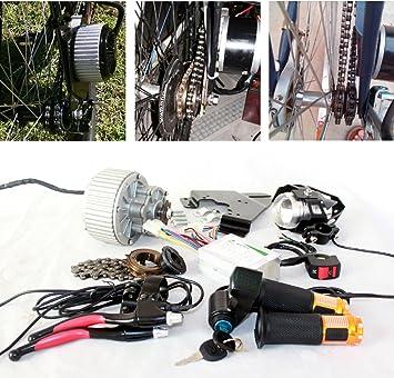 450W upgrade bicicleta electrica del motor del cepillo lente LED ...