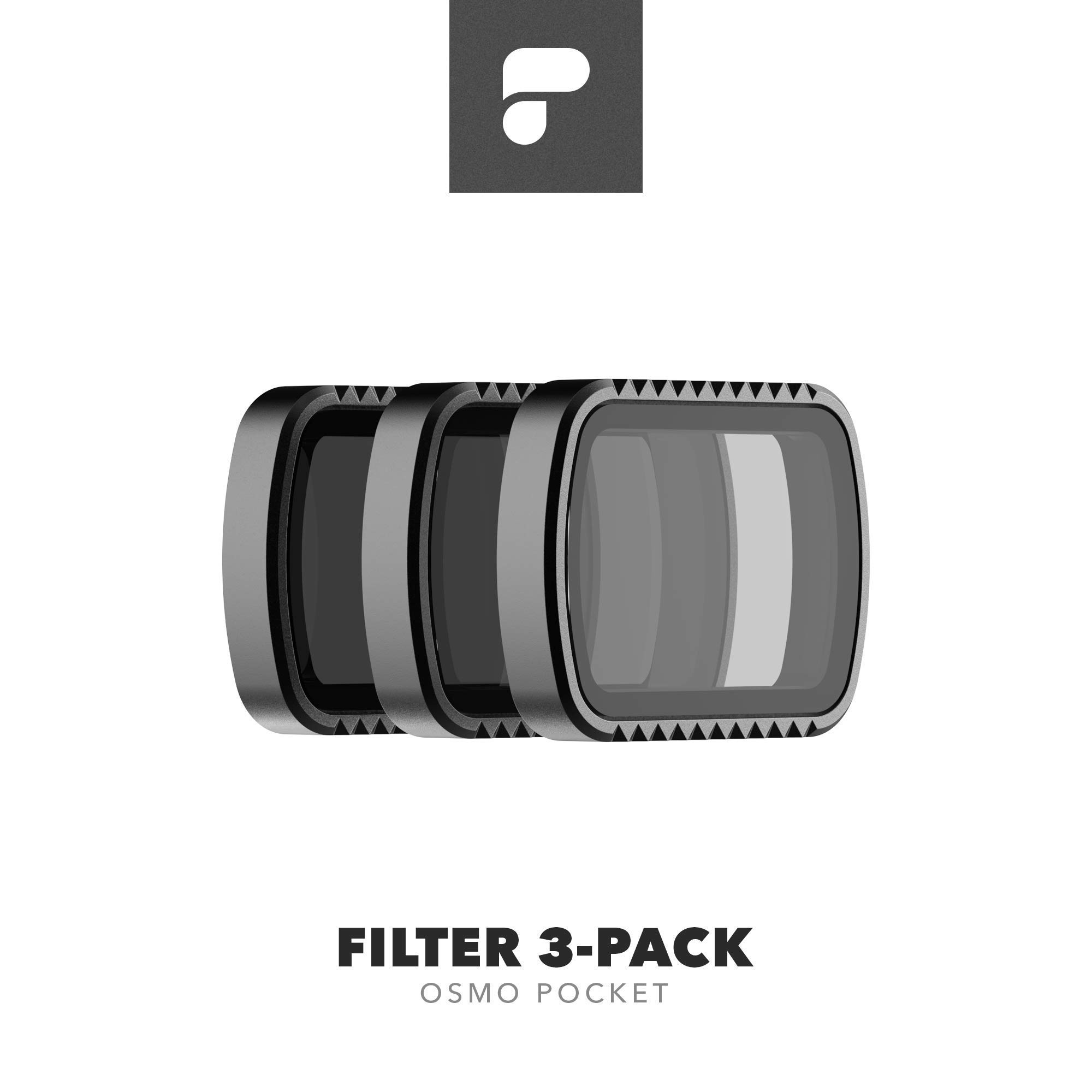 PolarPro Standard Filter 3-Pack for DJI Osmo Pocket by PolarPro