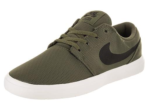 Zapatillas para niño, Color Verde, Marca Nike, Modelo Zapatillas para Niño Nike Portmore