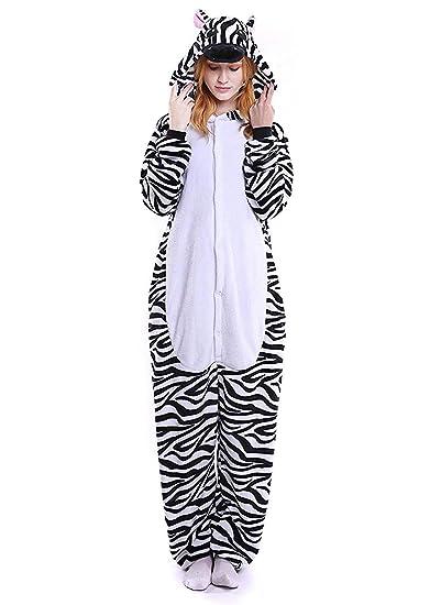 6e3734b47 ABYED Pijama Animal Entero Unisex para Adultos Niños con Capucha Ropa de  Dormir Traje de Disfraz para Festival de Carnaval Halloween Navidad   Amazon.es  ...