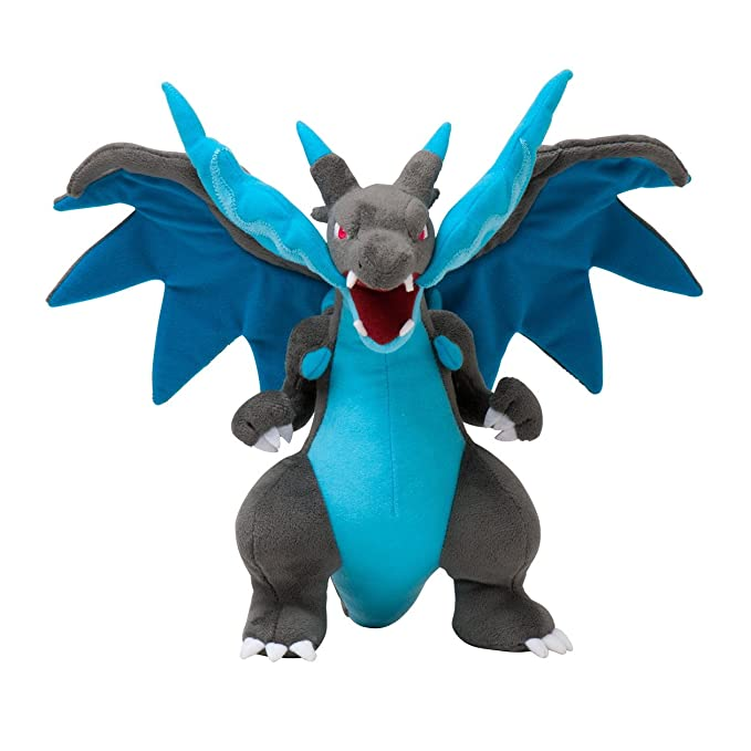 Pokemon Center Japan Mega Charizard X Stuffed 10