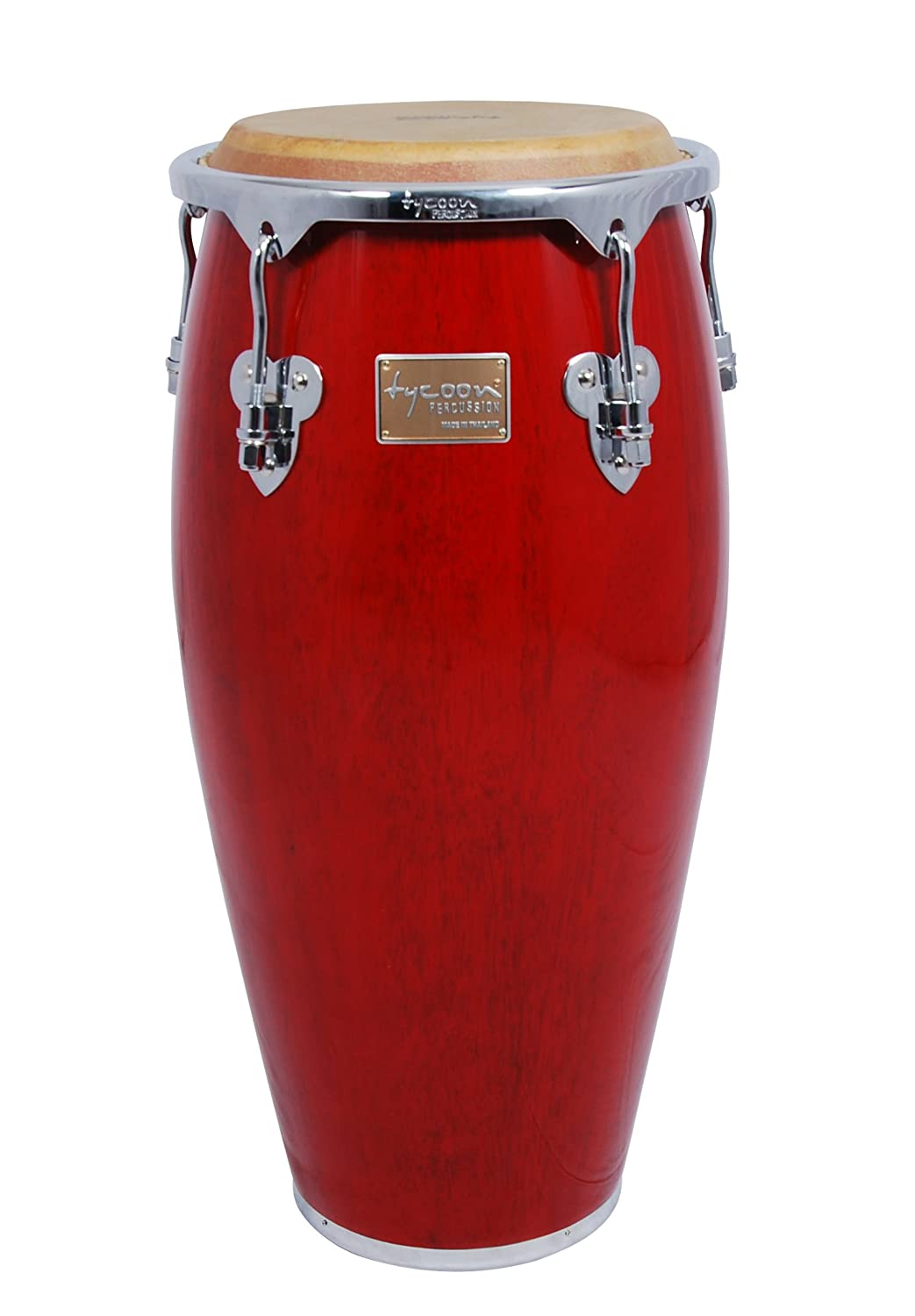 Tycoon Percussion 10 Inch Master Classic Series Red Requinto With Single Stand MTC-100 C R/S