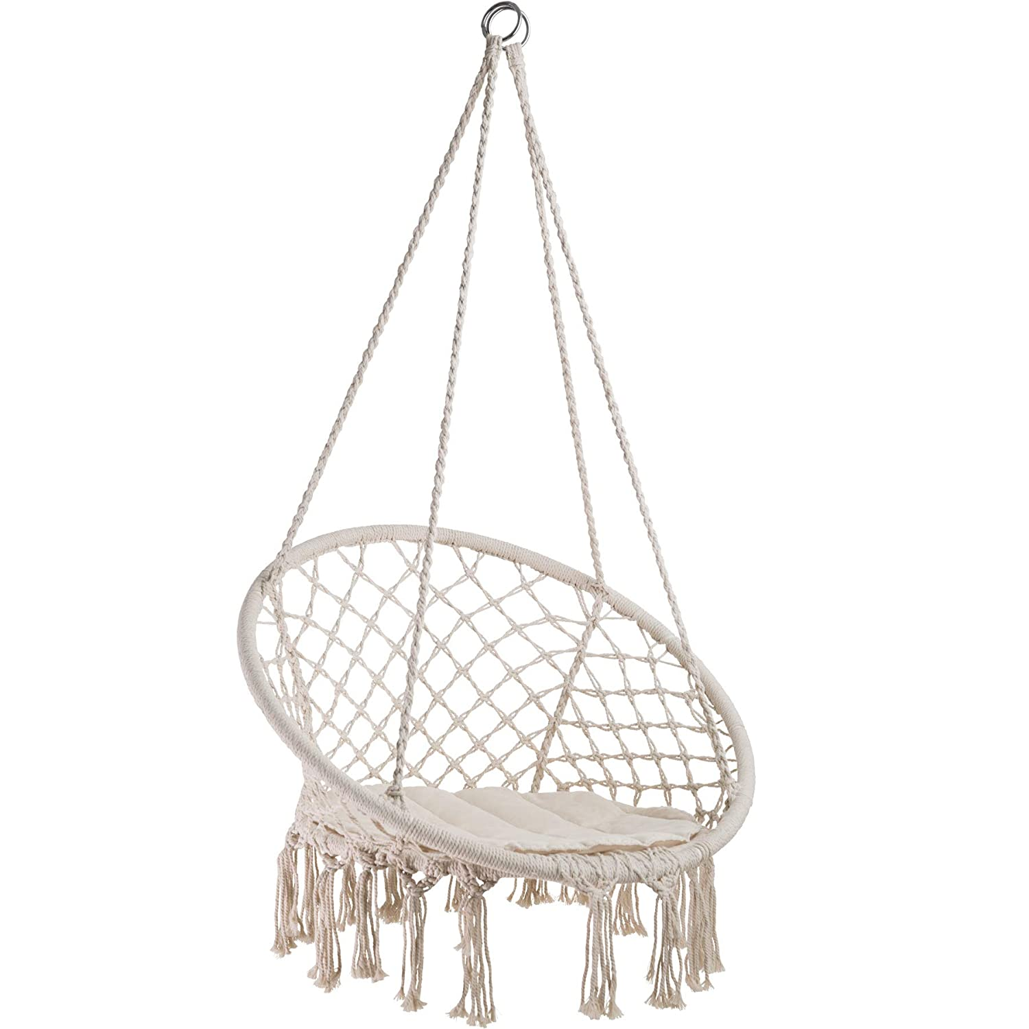 TecTake 402986 - Hanging Chair, Attractive Look and Feel, Robust and durable Construction, For Inside and Outside