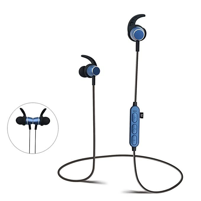Auriculares Bluetooth con ranura para tarjeta SD TF, auriculares ...