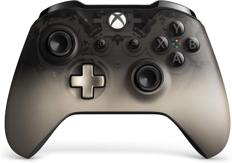 Microsoft - Mando Inalámbrico Negro (Phantom Black), Xbox One