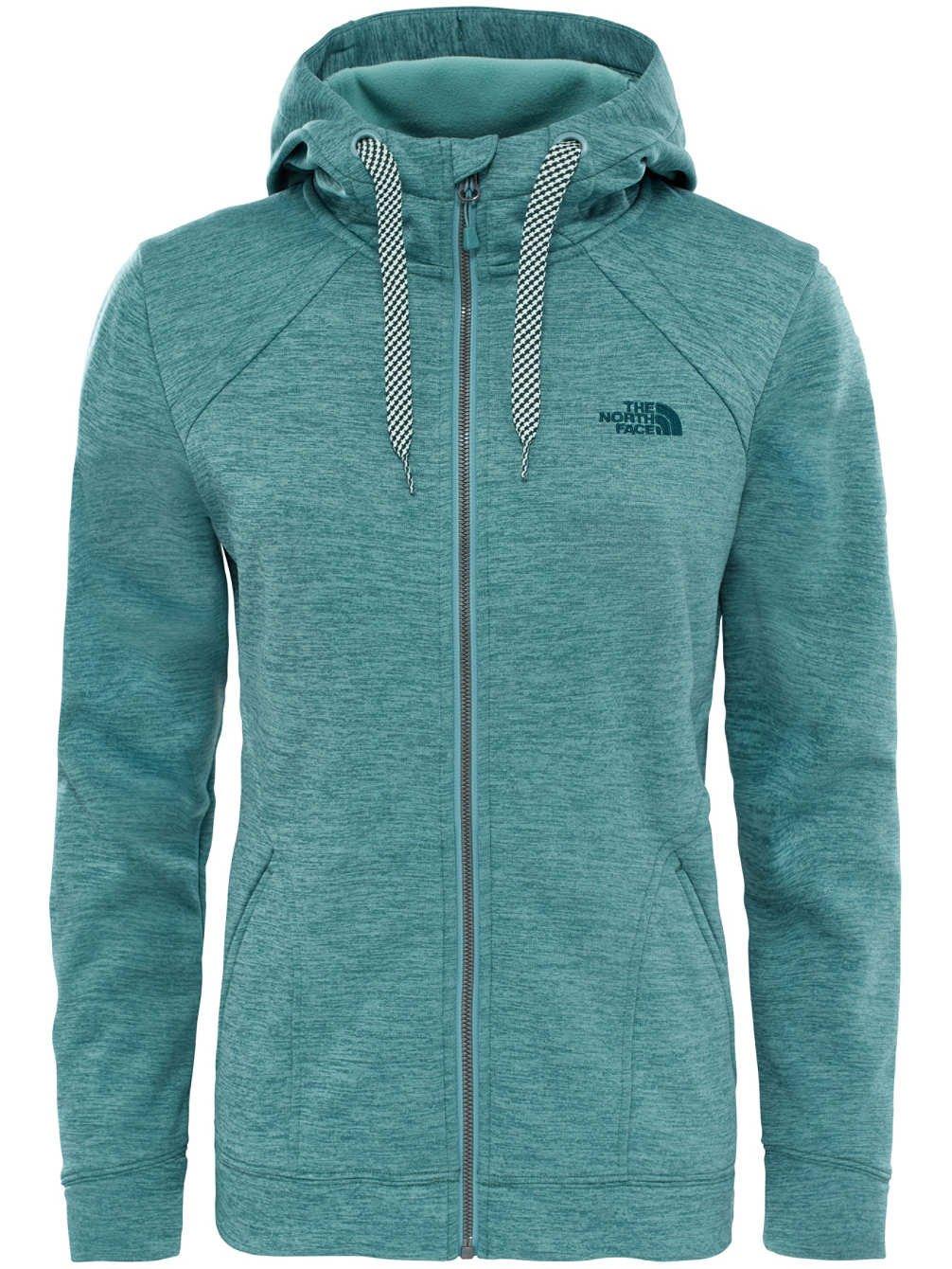 THE NORTH FACE W Kutum Full Zip Sweatshirt für Damen, mit Reißverschluss