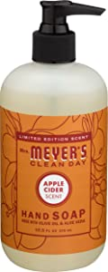 Mrs. Meyer's Clean Day Liquid Hand Soap, Apple Cider, 12.5 Fluid Ounce