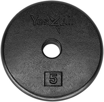 Weight plate 5 lb for universal machine or thin bar