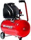 Einhell Kompressor TH-AC 200/40 OF (1,1 kW, 40 L, Ansaugleistung 140 l  /min, 8 bar, ölfrei, große Räder und Haltebügel)