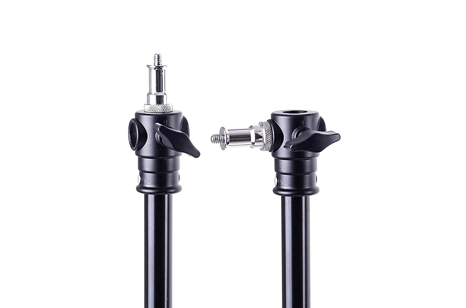 Luxlight/® Light Stand Extension Pole Adjustable 67-170cm Boom Arm Wall Mount Light Support