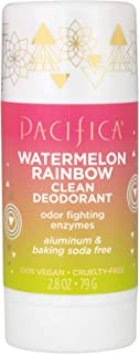 product image for Pacifica Watermelon rainbow clean deodorant, 2.8 Ounce