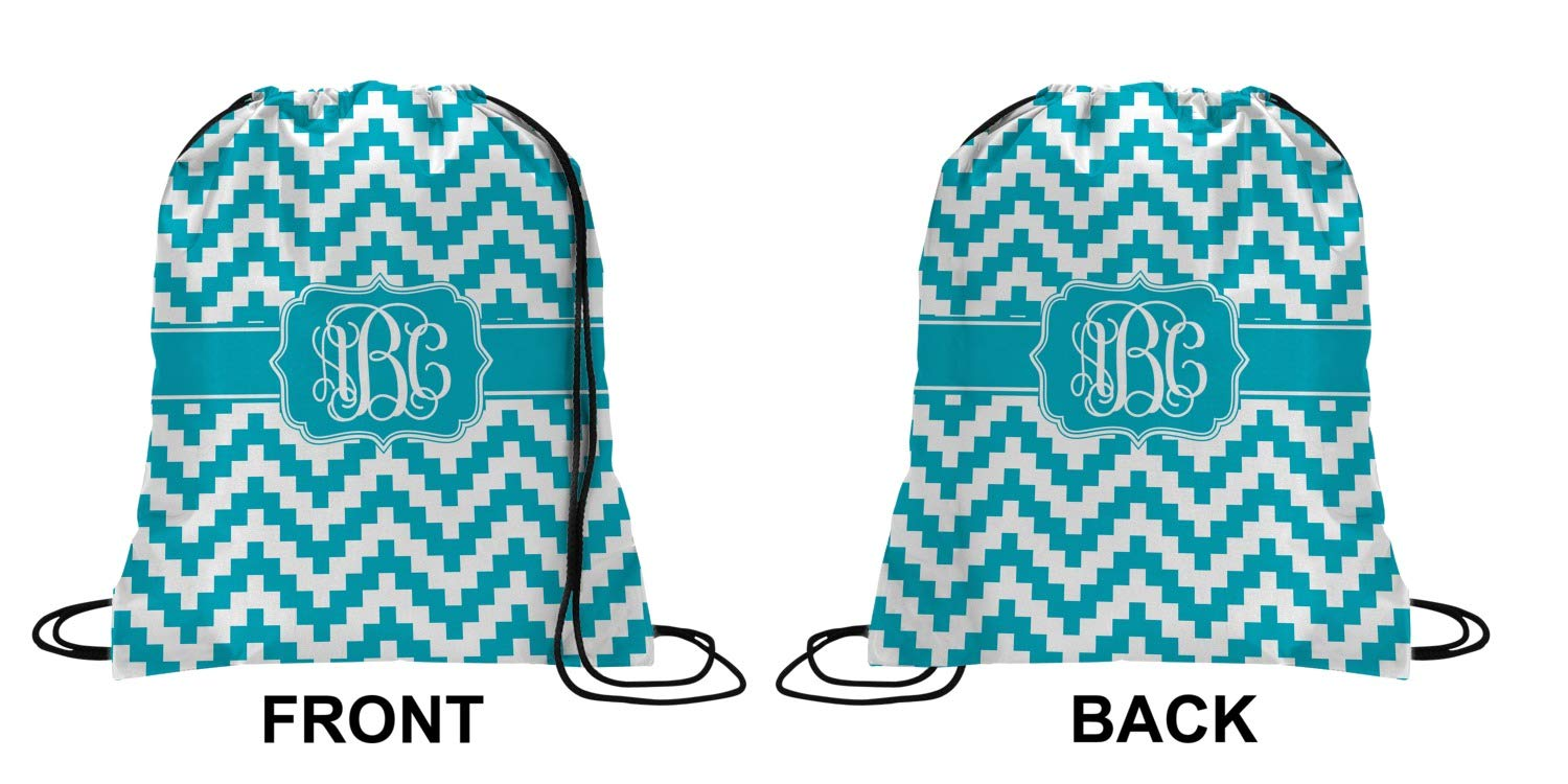 0b6a01a98ff0 Pixelated Chevron Drawstring Backpack - Small (Personalized)