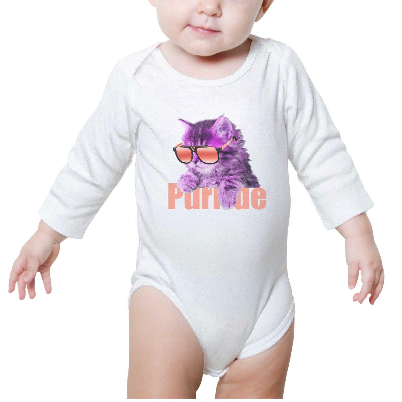 Gustaix Zimund Cat with Sunglasses Unisex Baby Onesies Bodysuit Jumpsuit