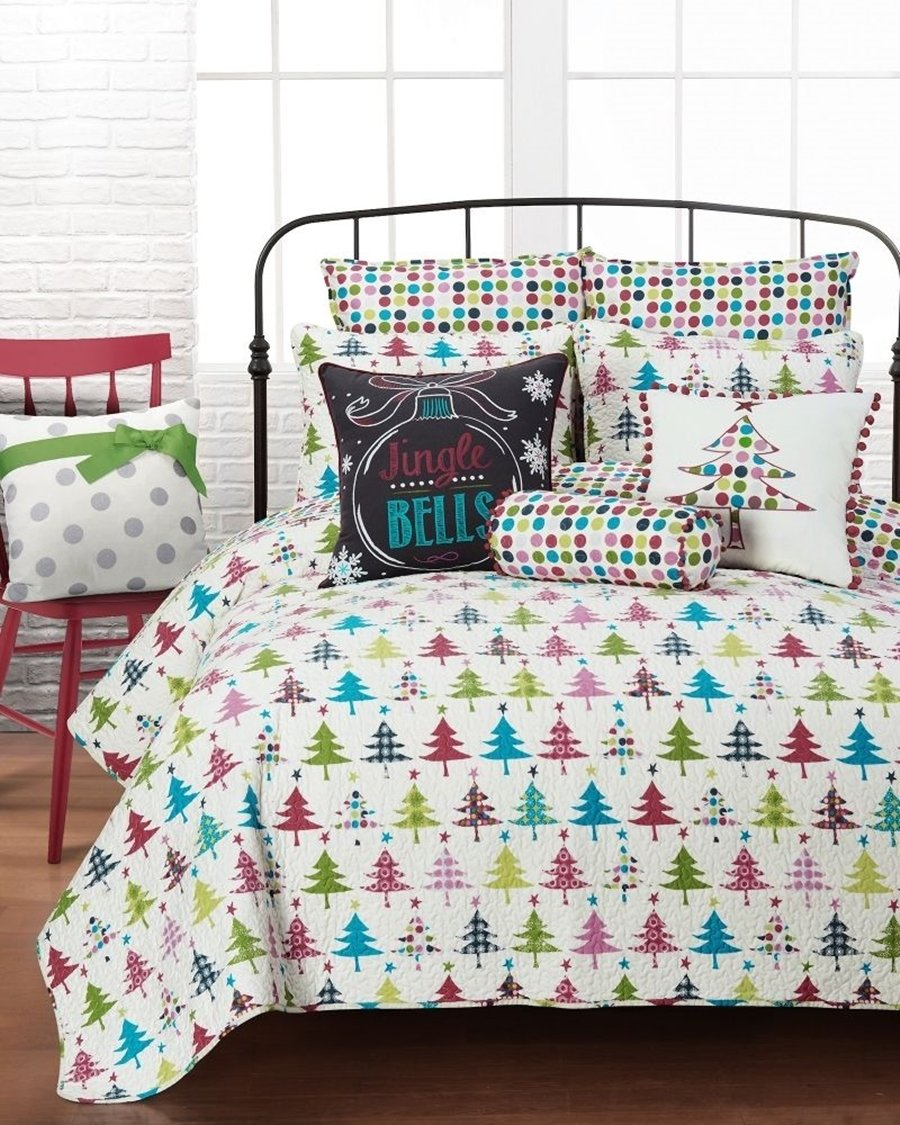 Christmas Bedding Sets – Ease Bedding with Style : holiday bedding quilts - Adamdwight.com