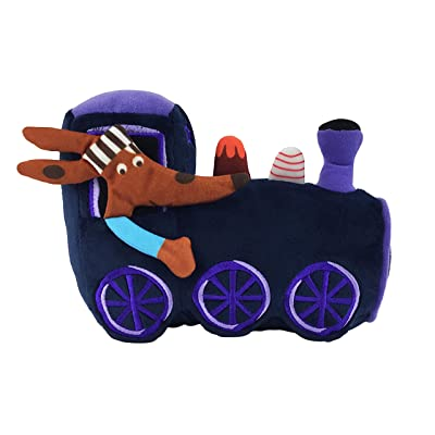 MerryMakers The Goodnight Train Soft Plush Train Stuffed Toy, 8-Inch, from June Sobel's The Goodnight Train Book Series: Toys & Games