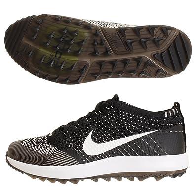 Nike Mens Flyknit Racer G Golf Shoes (8.5 D(M) US) Black 7e90294c8