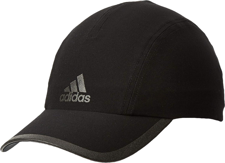 : adidas Climalite Running Cap (Black, One Size