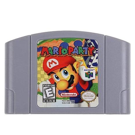 Para Nintendo 64 N64 Tarjeta de consola de cartucho de ...