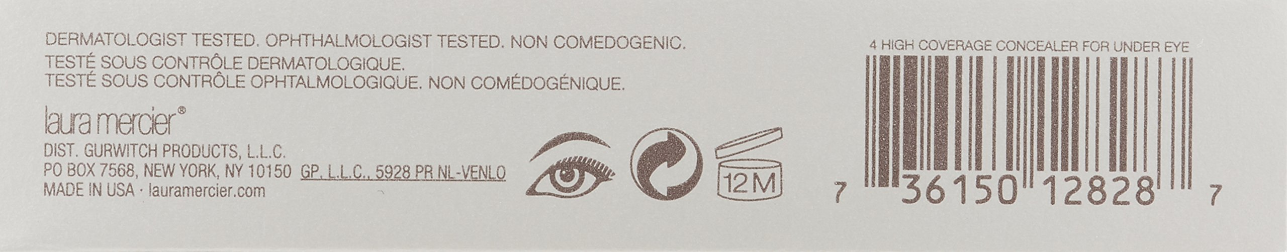 Laura Mercier High Coverage Concealer for Under Eye, No. 4, 0.27 Ounce by laura mercier (Image #2)