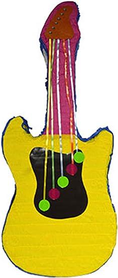 Confettery Piñata guitarra Fiesta de cumpleaños infantil ...