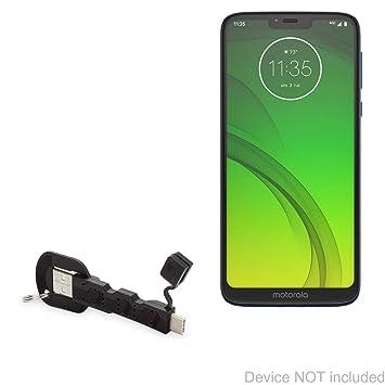 BoxWave - Cable de alimentación para Motorola Moto G7 ...